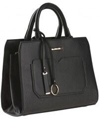 COOL CODE Damen Handtasche schwarz aus Kunstleder