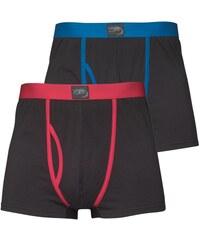 Kangaroo Poo Herren Boxer Boxershorts in lose Passform Black/Red Black/Blue