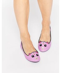 Cute To The Core - Uniponi - Chaussures plates - Rose