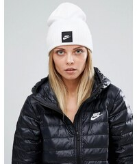 Nike - Futura - Bonnet avec logo - Blanc