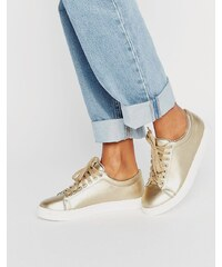 Daisy Street - Sneakers in Gold - Gold