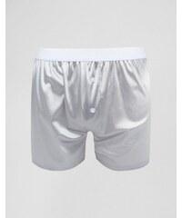 ASOS - Boxershorts aus Jersey in Metallic-Silber - Silber