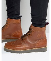 Fred Perry - Northgate - Bottines en cuir - Fauve