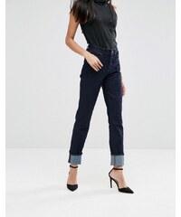 A-Gold-E - Bella - Jean slim taille haute - Bleu