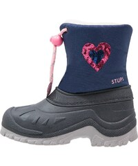 STUPS Snowboot / Winterstiefel blue/rosa