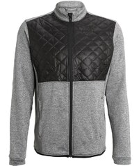 adidas Golf Veste polaire dark grey heather/black