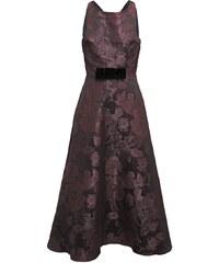 Swing Robe de soirée aubergine/black