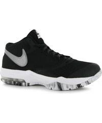 Basketbalové boty Nike Air Max Emergent pán. černá/stříbrná