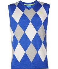 Vesta Slazenger Argyle pán. námořnická modrá/bílá