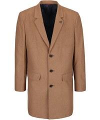 Světle hnědý kabát Burton Menswear London