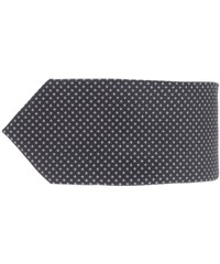 Černá kravata se vzorem Burton Menswear London