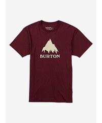 Pánské tričko Burton Classic MTN SS wino M
