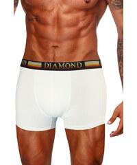 DMD Diamo boxerky se středně dlouhou nohavičkou bílá L