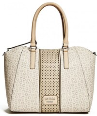 GUESS GUESS Arvin Logo Satchel - nude
