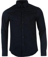 VERSACE COLLECTION Versace Woven Shirt Mens, navy