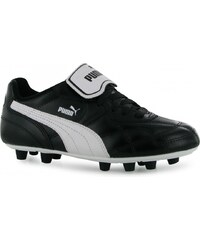 Puma Esito Classic Firm Ground Junior Football Boots, black/white