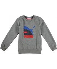 Puma Graph Crew Neck Sweatshirt Junior Boys, grey