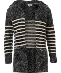 Soul Cal SoulCal Hooded Cardigan Womens, grey/white