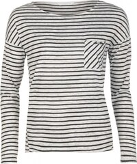 Only Clare Stripe T Shirt, black stripe
