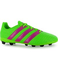 Adidas Ace 16.4 Childrens FG Football Boots, solar green