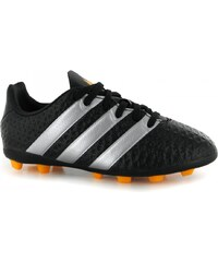 Adidas Ace 16.4 Childrens FG Football Boots, black/silver