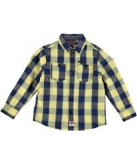 Lee Cooper Check Shirt Infant Boys, yellow/navy