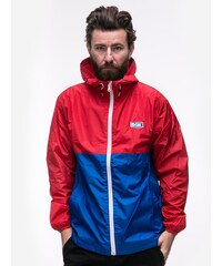 DGK Pier Windbreaer Jacket Red Blue