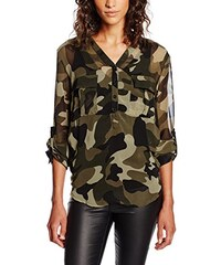 Tantra Damen Bluse Camouflage Blouse with Pockets