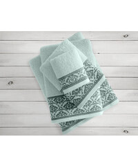 Mentolový ručník Irya Home Felice, 50x90 cm