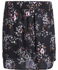 Jupe liquette motif floral multicolore Beige Acetate - Femme Taille 36 - Cache Cache