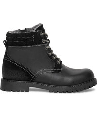 Eram Boots fourré cuir noir