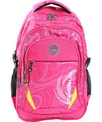 Lesara City-Rucksack mit Sneakerprint - Pink