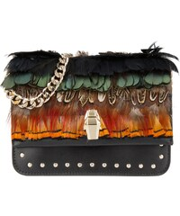 Class Cavalli Sacs à Bandoulière, Mini Milano Bag Multicolor en marron, noir