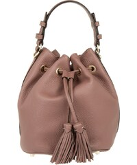 Abro Sacs à Bandoulière, Adria Leather Bucket Bag Rosa en rose pâle