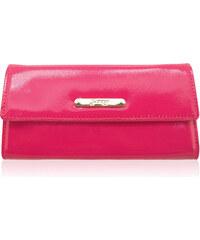GESSY by LYDC Velká růžová peněženka Gessy London