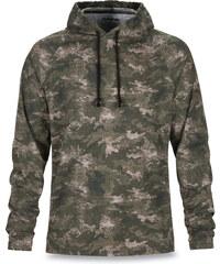 Dakine Pánská mikina Ironwood L/S Hooded Knit Peat Camo 10000884-W17