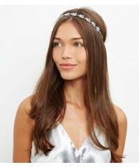 New Look Elastisches Haarband mit Schmucksteinen