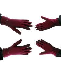 Dámské elegantní rukavice s ozdobnými kamínky ZR0006-0339