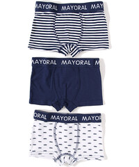 Mayoral MAYORAL boxerky 3-pack 'Azul'