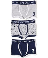 Mayoral MAYORAL boxerky 3-pack 'Humo vig'