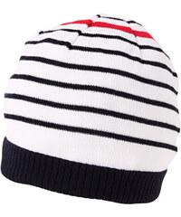 MaxiMo MAXIMO jarní úpletová bavlněná čepice 'PRUHY'