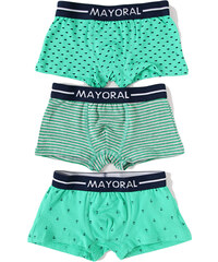 Mayoral MAYORAL boxerky 3-pack 'Cactus'