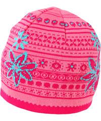 MaxiMo MAXIMO jarní úpletová bavlněná čepice 'KVĚTY'