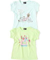 Losan Bavlněné tričenko Baby 'Kolo a konvička'