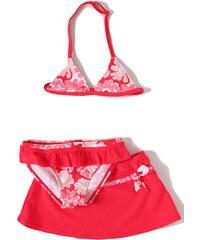 Losan 3-dílné plavky 'Květy' s mašličkou