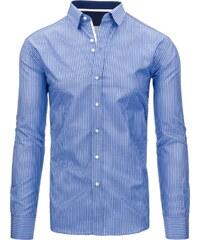 Coolbuddy Pánská pruhovaná košile s dlouhým rukávem 9105 Velikost: M