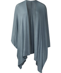Street One Offener Poncho Mona - sterling blue, Damen