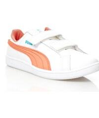 Puma Smash Fun - Ledersneakers - weiß
