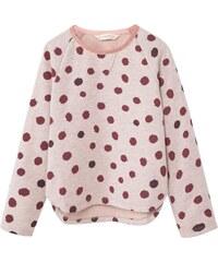 Mango Kids Sweat-shirt en coton mélangé - rose