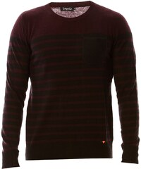 Deepend Pullover mit Wollanteil - bordeauxrot